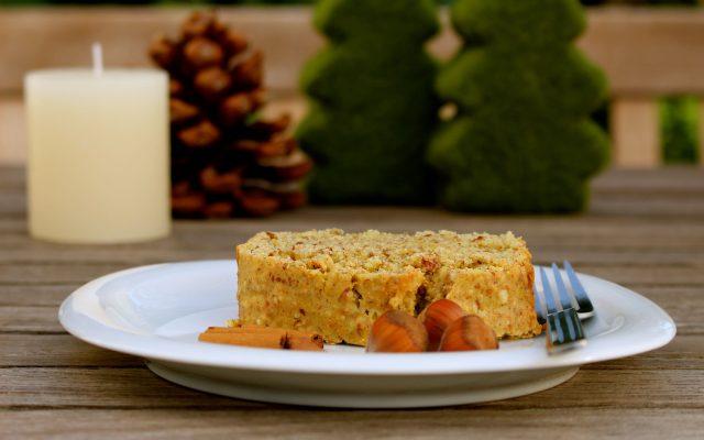 Veganer Nusskuchen – fluffy & tasty