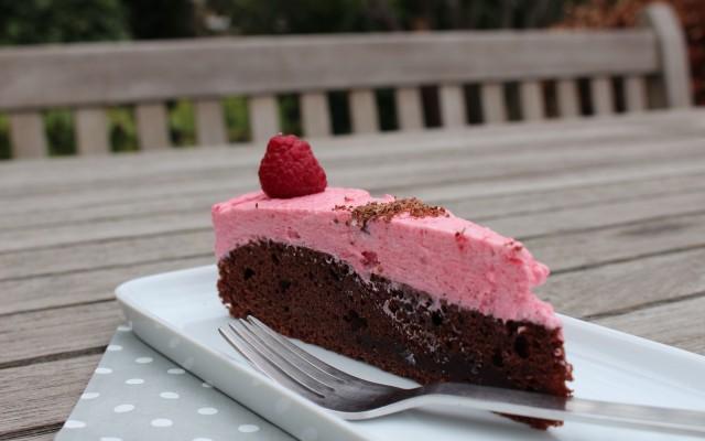 Sweet 17 Schoko-Himbeer-Torte ;-)