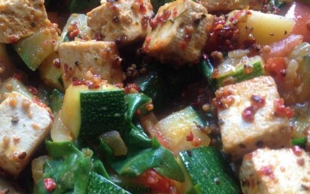 vegane Zucchini-Pfanne mit Vegi-Belle – yummy