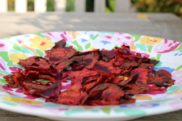 Rote Bete Chips #selbstgemacht