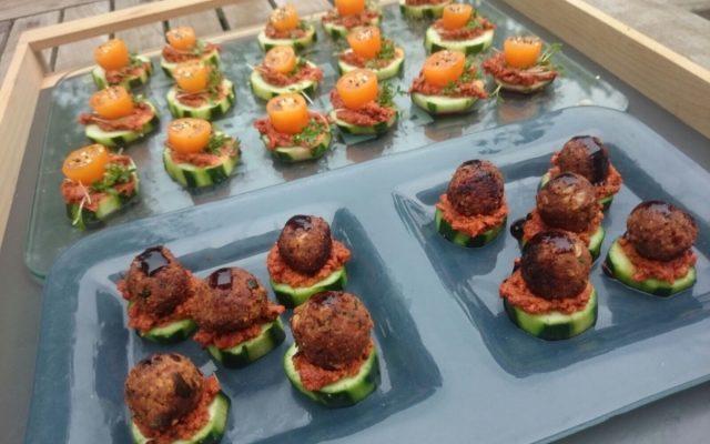 Schön war es beim 1. 'Vegan Guerilla Cooking'