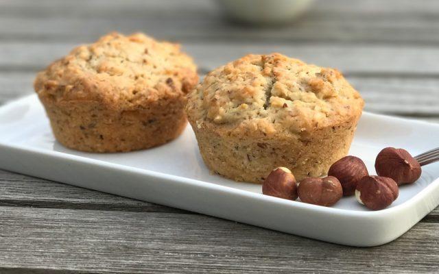 Vegane Nuss-Apfel-Muffins zum #WeltVeganTag #WorldVeganDay