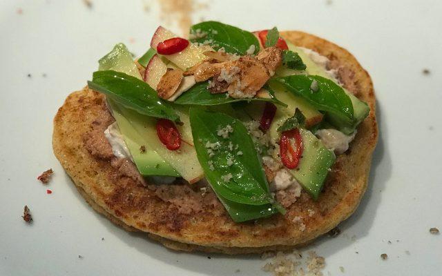 Sonntagsfrühstück mit Kichererbsen-Pancakes