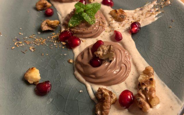 Haselnuss-Mousse … locker, leicht und köstlich