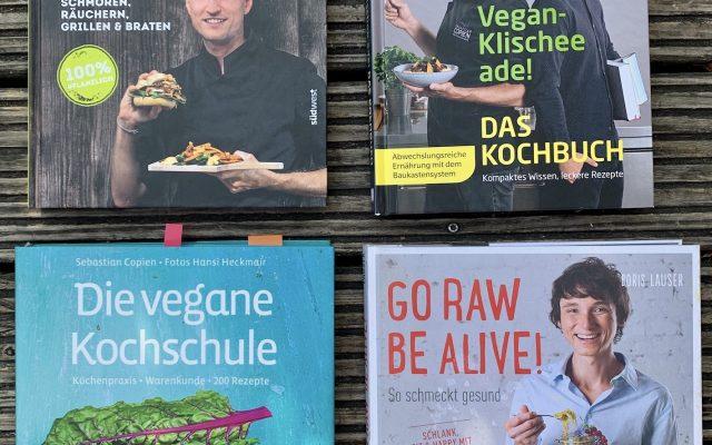 Lieblings Kochbücher – natürlich vegan!