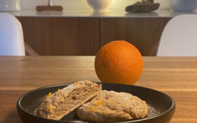 Schnelle vegane Orangen Scones á la Chloe